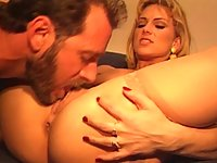 Missy takes a cock in the ass deeply