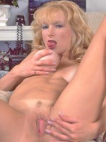 Pornstar Kelly O'Dell working her pussy
