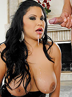 Sophia Lomeli loves a big hard cock drilled in her ass crack