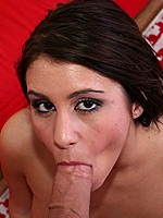 Busty Whitney Stevens rides on huge cock with oral
