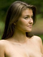 Alexia Savage innocent nude look at the middle of the forest