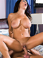 Teri Weigel is in the mood for a serious pounding