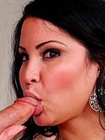 Bigboobed latina Sophia Lomeli fucked till facials
