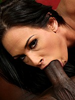Brunette Tory Lane in interracial anal on big cock