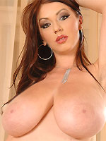 Merilyn Sekova shows huge massive boobs