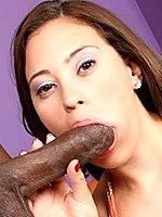 Busty Selena Castro enjoys a black dick in sex act