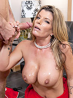 Kristal Summers love a hard office dick knocking in her twat
