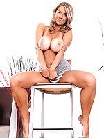 Katerina Hartlova with juicy and all-natural tits